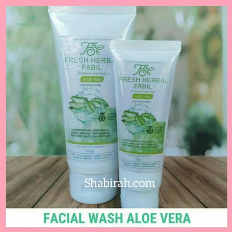 Fabil Skin Facial Wash Aloe Vera